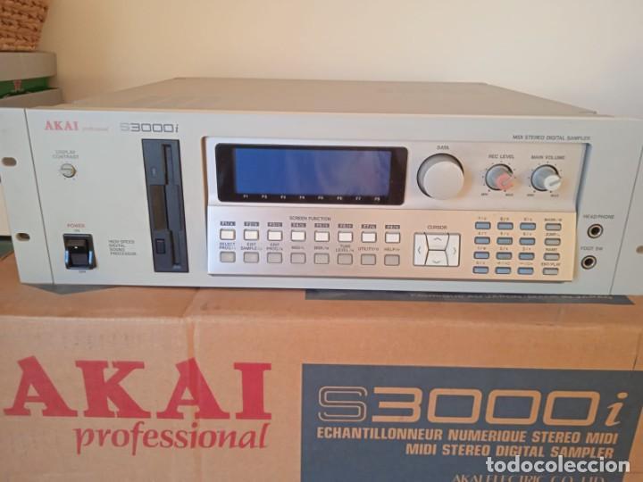 AKAI S3000I - MIDI STEREO DIGITAL SAMPLER- (Música - Instrumentos Musicales - Accesorios)