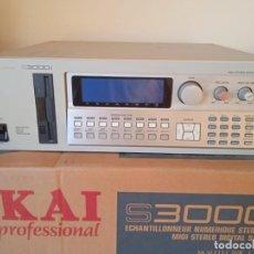 Instrumentos musicales: AKAI S3000I - MIDI STEREO DIGITAL SAMPLER-. Lote 293544213