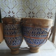 Instrumentos musicales: TIMBAL ARABE. Lote 293711983