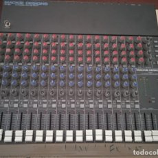 Instrumentos musicales: MACKIE MEZCLADOR CR-1604 -16 CHANNEL HIGH-HEADROOM LOW NOISE MIC/LINE MIXER. Lote 293745343
