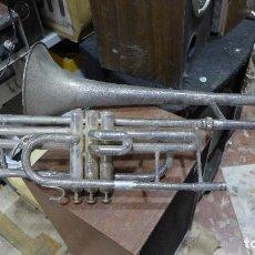 Instrumentos musicales: ANTIGUO TROMBON. Lote 294064433