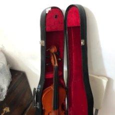 Instrumentos musicales: VIOLÍN ANTIGUO EN SU CAJA . BUEN ESTADO. VER LAS MEDIDAS EN FOTOS. Lote 294855993