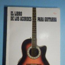 Instrumentos musicales: EL LIBRO DE LOS ACORDES PARA GUITARRA - MUSIC DISTRIBUCIÓN - 1994. Lote 294954713