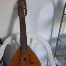 Instrumentos musicales: ANTIGUO LAUD TELESFORO JULVE,VALENCIA. Lote 295617253