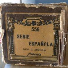 Instrumentos musicales: ROLLO PIANOLA / ORGANILLO SERIE ESPAÑOLA NUM. 3 SEVILLA. ALBENIZ. CON SU ESTUCHE ORIGINAL. Lote 295713763