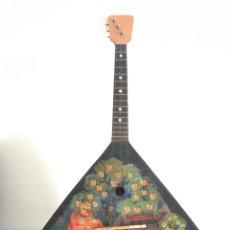 Instrumentos musicales: BALALAICA RUSA PINTADA A MANO. Lote 296727908