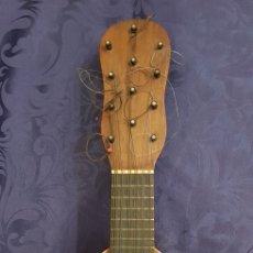 Instrumentos musicales: BANDURRIA DE PALILLOS O CLAVIJAS ANTIGUAS DE DOCE CUERDAS. MARIANO BIU ZARAGOZA. Lote 296743263