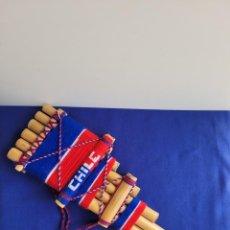 Instrumentos musicales: FLAUTA DE PAN DE CAÑA DE AZUCAR,CHILE. Lote 296960833