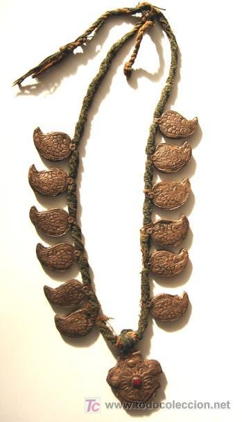 COLLAR NEPALÍ - PLATA - S. XVII - (Joyería - Collares Antiguos)