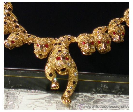 73fa9834c3b2 impresionante replica collar y pendientes leo - Vendido en Venta ...