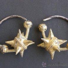 Schmuck - PENDIENTES BIZANTINOS. PLATA SOBREDORADA. - 17431128