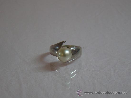 Joyeria: Precioso anillo en plata 925, con perla - Foto 2 - 16442145