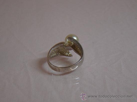 Joyeria: Precioso anillo en plata 925, con perla - Foto 3 - 16442145