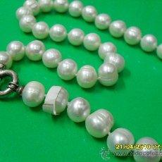Joyeria - Collar perlas cultivadas con cierre plata. - 26797132