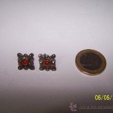 Joyeria: PENDIENTES PLATA LEY 925 + PIEDRAS ANTIGUOS . Lote 140668165