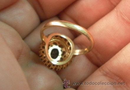 Joyeria: Antiguo anillo. Oro de 18 k. Con estuche original. - Foto 4 - 32676536