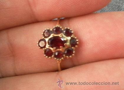 Joyeria: Antiguo anillo. Oro de 18 k. Con estuche original. - Foto 4 - 32676577