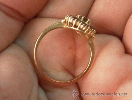 Joyeria: Antiguo anillo. Oro de 18 k. Con estuche original. - Foto 6 - 32676577