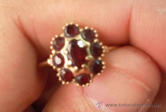 Joyeria: Antiguo anillo. Oro de 18 k. Con estuche original. - Foto 5 - 32676577