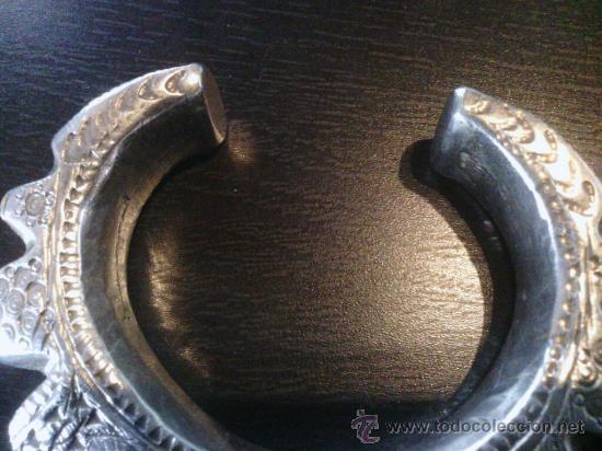 Joyeria: Brazalete fin siglo 19º - Afganistan o Uzbekistan - plata - Foto 3 - 46706496