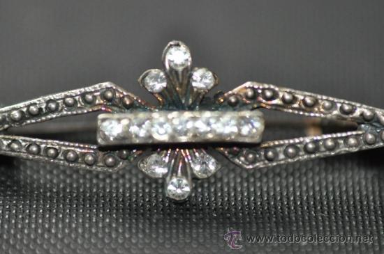 Joyeria: BROCHE ALFILER de plata sellada - Foto 2 - 35101093