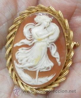 Joyeria: Camafeo antiguo. Oro 18 K. - Foto 2 - 37065612