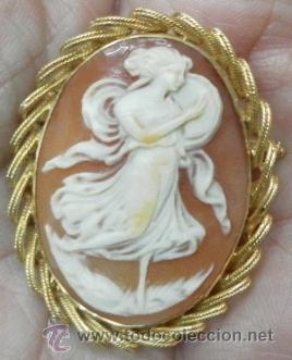 Joyeria: Camafeo antiguo. Oro 18 K. - Foto 3 - 37065612