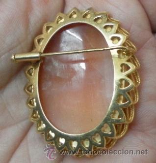Joyeria: Camafeo antiguo. Oro 18 K. - Foto 5 - 37065612