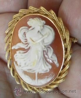 Joyeria: Camafeo antiguo. Oro 18 K. - Foto 4 - 37065612