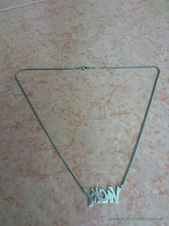 Joyeria: Gargantilla en plata de ley contrastada, nombre ( VICKY ). 925 - Foto 6 - 127257063