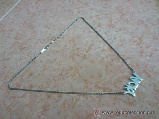 Joyeria: Gargantilla en plata de ley contrastada, nombre ( VICKY ). 925 - Foto 7 - 127257063