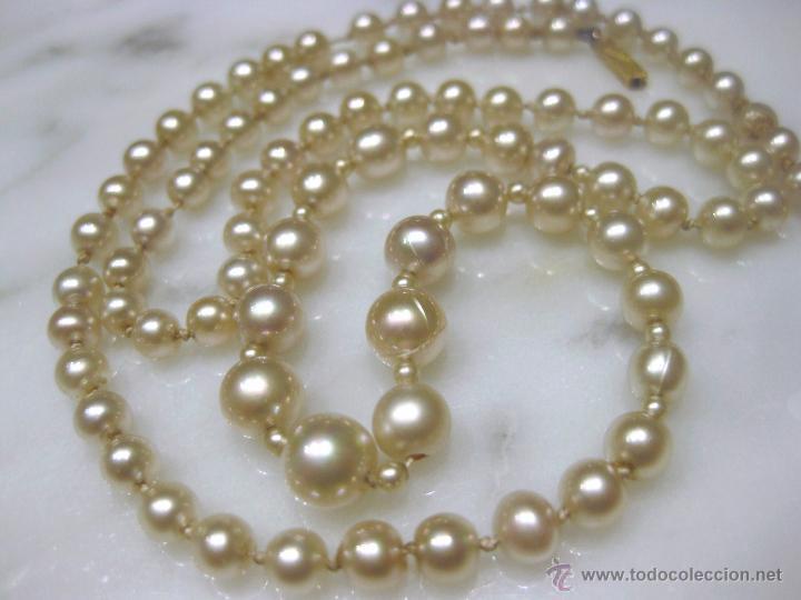 Collares perlas naturales
