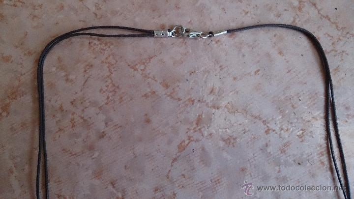 Joyeria: Collar moderno de cuentas de ágata natural pulida, cordón y cierre en plata de ley contrastada 925 - Foto 10 - 41371590