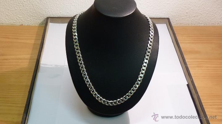 0f3ba6bf9a53 Cadena barbada caballero plata 925 mm en 60 cm - Sold through Direct ...