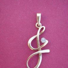 Jewelry - COLGANTE ANTIGUO EN ORO AMARILLO 18 K. CONTRASTADO Y DIAMANTE, CON BONITO DISEÑO. DIM.- 2,5X1 CMS. - 99079947