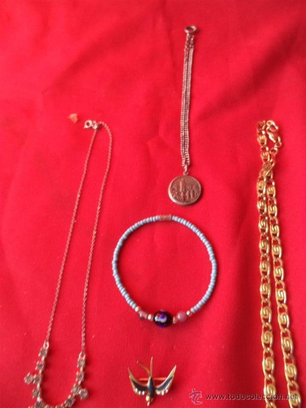 Joyeria: lote collares y varios con plata - Foto 2 - 42525807