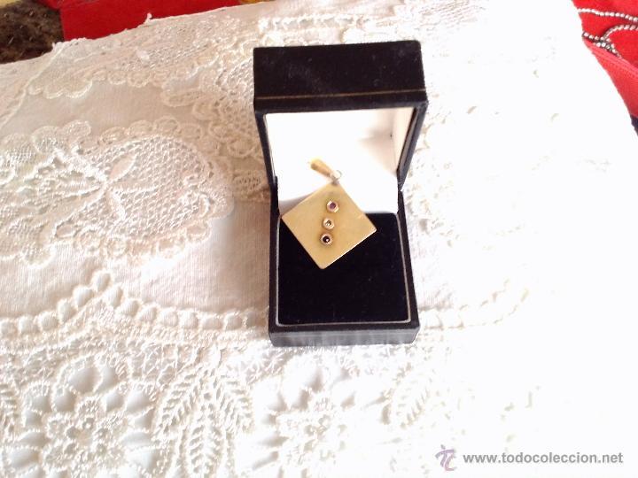 Joyeria: colgante oro bajo y piedras preciosas - Foto 2 - 42759467