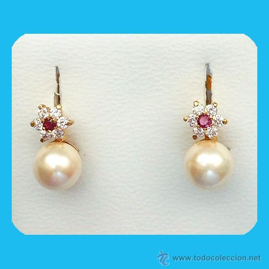 c0cf4c3130df par de pendientes de perla cultivada 7