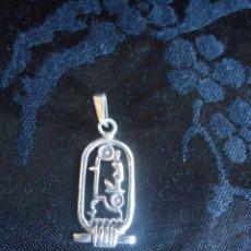 Joyeria: COLGANTE PEQUEÑO O DIJE EGIPCIO EN PLATA 925. SIMBOLOGIA EGIPCIA. EGIPTO 2,7 CM. Lote 43578229