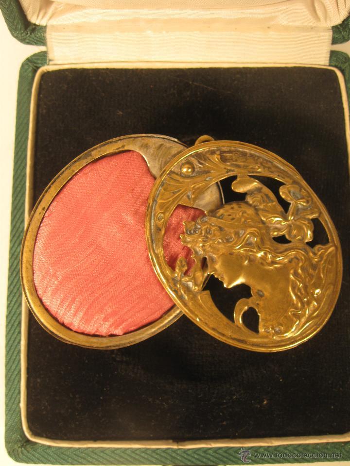 Joyeria: Precioso guardapelo Art nouveau. - Foto 2 - 43667540
