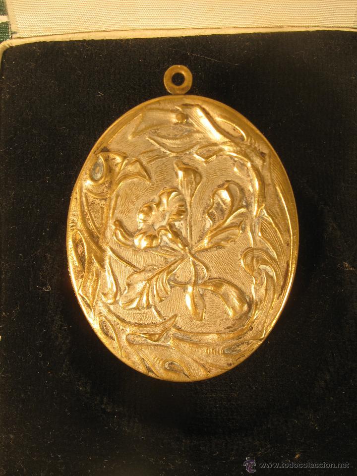 Joyeria: Precioso guardapelo Art nouveau. - Foto 3 - 43667540