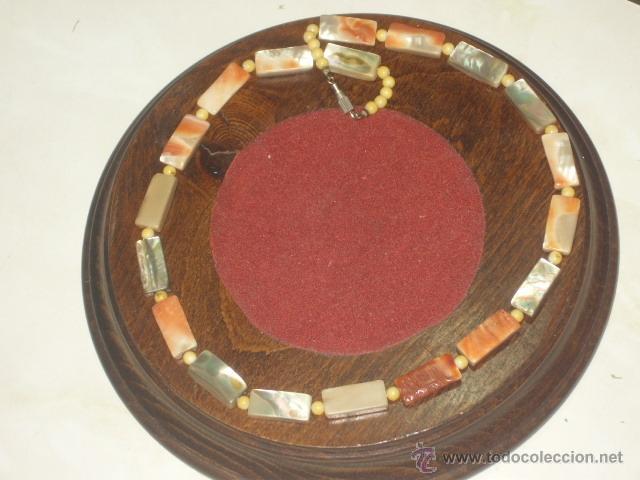 Joyeria: Vintage collar de nacar,madre perla colores variados de salmon - Foto 2 - 45919680