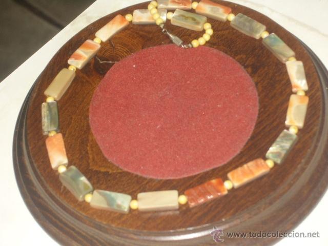 Joyeria: Vintage collar de nacar,madre perla colores variados de salmon - Foto 3 - 45919680