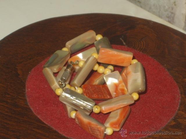 Joyeria: Vintage collar de nacar,madre perla colores variados de salmon - Foto 7 - 45919680