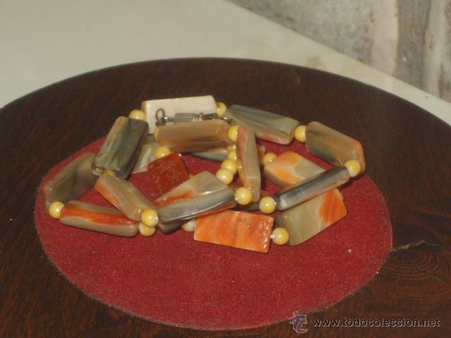 Joyeria: Vintage collar de nacar,madre perla colores variados de salmon - Foto 8 - 45919680