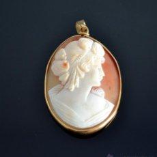 Jewelry - Excelente Camafeo de oro 18 k y coral - 46368788