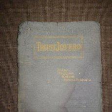 Joyeria: TRUST JOYERO Y RELOJERO, CATALOGO ESPECIAL Nº 5. CON LISTA DE PRECIOS. 1921.. Lote 25384059