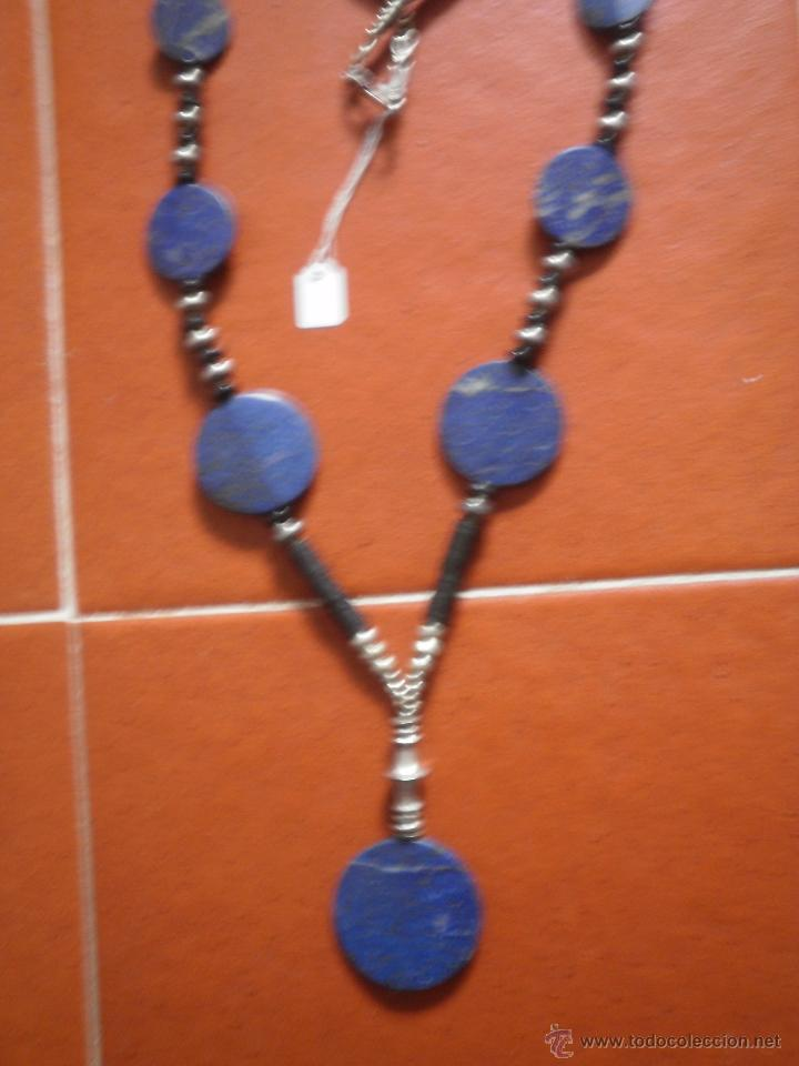 Joyeria: Collar de lapislázuli. - Foto 2 - 47569721