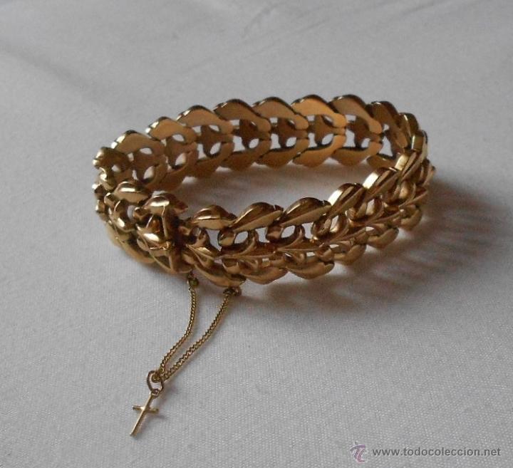 51bf14b1cbcf Preciosa pulsera de oro antigua - Vendido en Venta Directa - 47708901