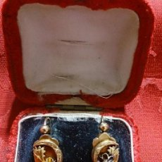 Joyeria - Pendientes alfonsinos oro y aljofar - 47732168